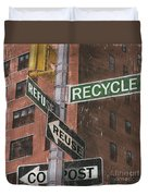 Nyc Broadway 1 Duvet Cover