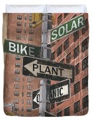 Nyc Broadway 2 Duvet Cover