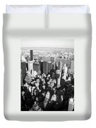 Nyc Bw Duvet Cover