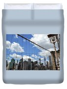 Nyc Catch Me If You Can Duvet Cover