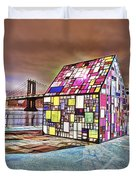 Nyc Color  Duvet Cover