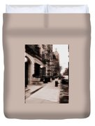 Nyc Neighborhood Series Duvet Cover