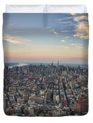 Nyc North Duvet Cover