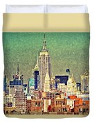 Nyc Scaped Duvet Cover