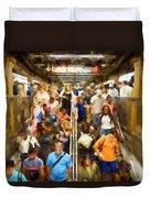 Nyc Subway Duvet Cover