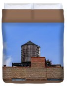 Nyc Water Tank Duvet Cover