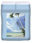 Nylon Pool Tobago. Duvet Cover by Karin  Dawn Kelshall- Best