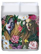 Nymphes Duvet Cover