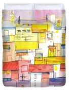 O Town Duvet Cover
