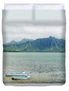 Oahu, Kaneohe Bay Duvet Cover
