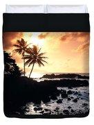 Oahu, North Shore Duvet Cover