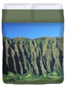 Oahu Rugged And Lush Duvet Cover