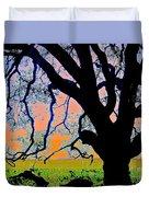 Oak At Elkhorn Duvet Cover