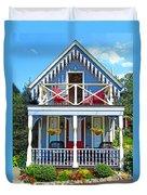 Oak Bluffs Gingerbread Cottages 4 Duvet Cover