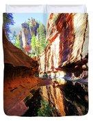 Oak Creek Canyon 1 Duvet Cover