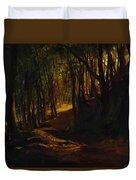 Oak Grove At San Terenzo Duvet Cover