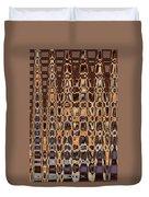 Oak Stump Abstract Duvet Cover