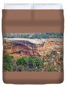 Oak Tree House - Mesa Verde National Park Duvet Cover