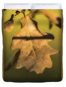 Oak Tree Leaf Duvet Cover
