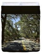 Oak Trees Along Live Oak Canyon Road Duvet Cover
