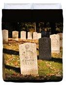 Oakland Cemetery Atlanta Duvet Cover