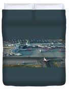 Oakland International Airport Duvet Cover