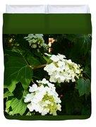 Oakleaf Hydrangea Duvet Cover
