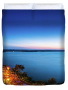 Oasis At Night Duvet Cover