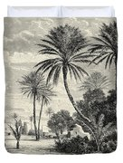 Oasis Of Gafsa  Tunis Duvet Cover