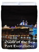 Oasis Of The Seas Duvet Cover