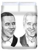 Obama Biden Duvet Cover