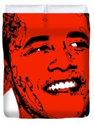 Obama Hope Duvet Cover