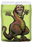 Obama Saurus Rex Duvet Cover