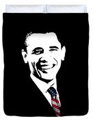 Obama Graphic Duvet Cover