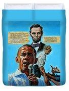 Obamas Heritage Duvet Cover