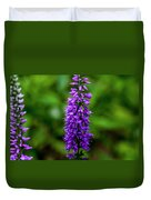Obedient Plant Duvet Cover