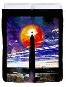 Obelish Eclipse Duvet Cover