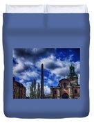 Obelisk In Gamla Stan Duvet Cover