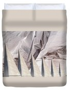 Obelisks Aligned Duvet Cover