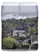 Oberwesel Old And New Duvet Cover