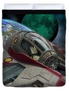 10108 Obi-wan's Starfighter Duvet Cover