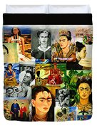 Obsessed With Frida Kahlo Duvet Cover