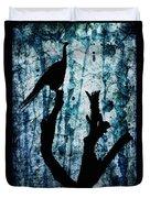 Obsidian Realm Duvet Cover