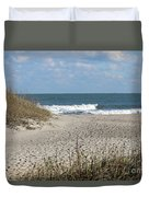 Obx Beach And Dunes Duvet Cover
