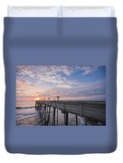 Obx Sunrise Duvet Cover by Adam Romanowicz
