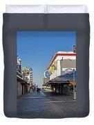 Oc Boardwalk Duvet Cover by Skip Willits