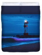 Ocean City Dawn Surf Painted Duvet Cover