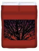 Ocala Moonrise Duvet Cover