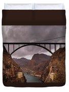 O'callaghan-pat Tillman Memorial Bridge Duvet Cover