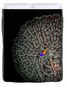 Ocean Art Cactus Coral Duvet Cover